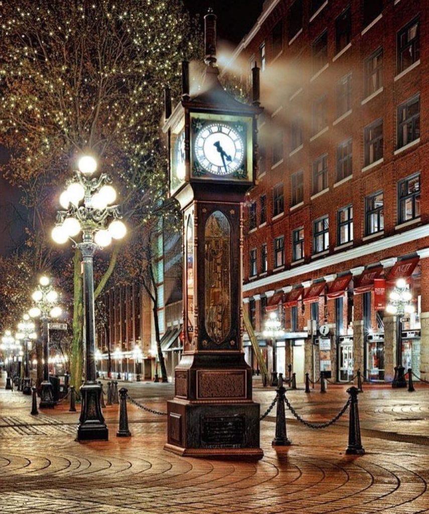 Gastown steam clock vancouer