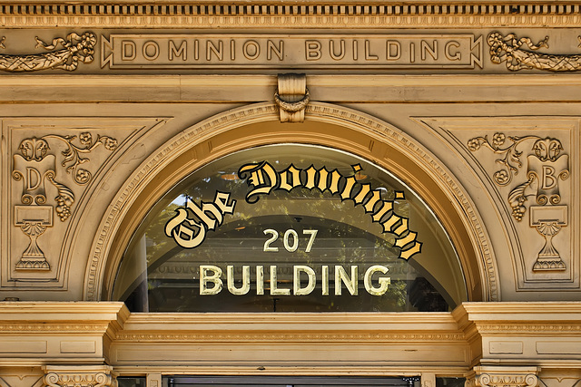 the dominion building gryphon blog